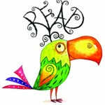 Reading is fun bird logo